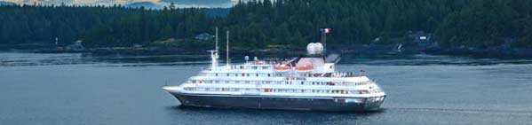 Small Ship Cruises in Alaska