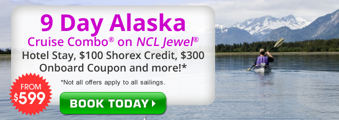 Alaska Cruise and Land Packages from $599