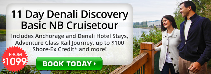 11 Day Denali Discovery on Celebrity Millennium!