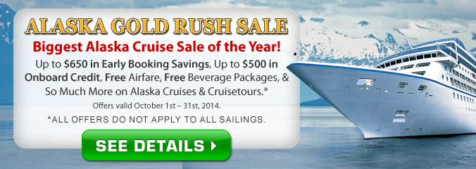 Alaska Gold Rush Sale!