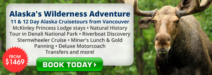 Wilderness Adventure Cruisetours from Vancouver