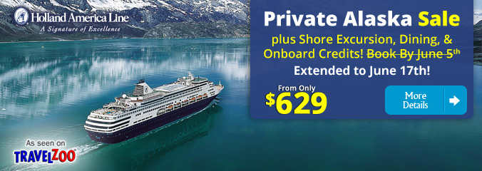 Private Alaska Sale from $629