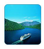 AlaskaCruises.com cruises Alaska's Inside Passage.